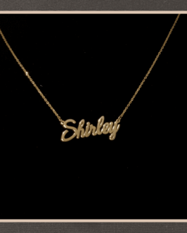 Personalized Gold Chain